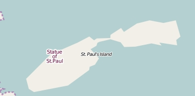 Islands of St. Paul Map